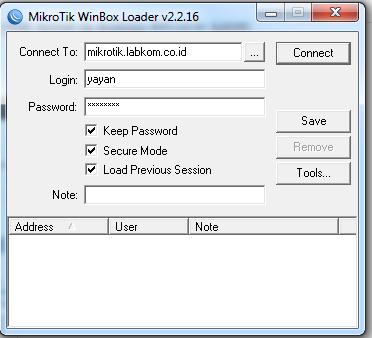Akses Mikrotik Menggunakan Custom Domain dengan IP-Cloud (DDNS) Mikrotik