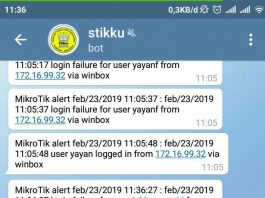 bot telegram mikrotik login