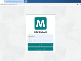 halaman login mikbotam
