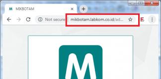halaman login mikbotam mikrotik