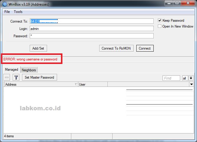 Cara Mengetahui Password Mikrotik dari File Backup